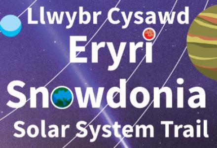 Llwybr Cysawd Eryri – Snowdonia Solar System Trail